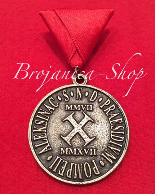 Konteo Liveni program Medalje