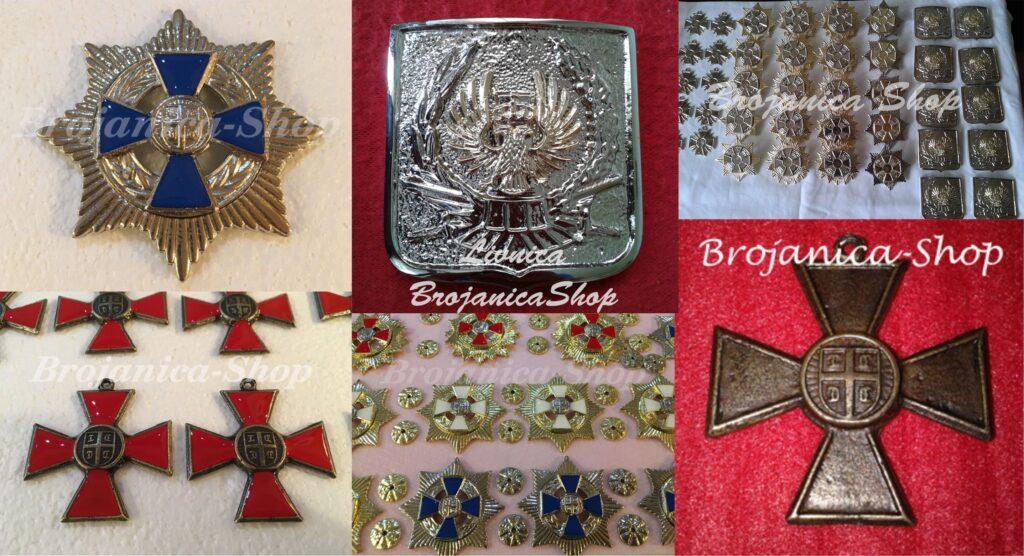 Livenje ordenja i medalja